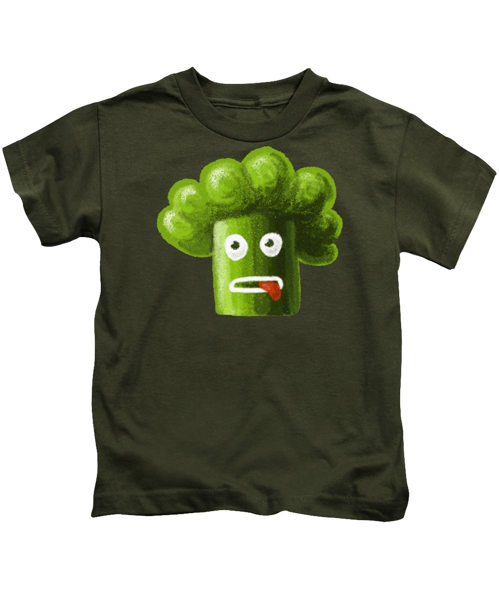 Broccoli Kids T-Shirts