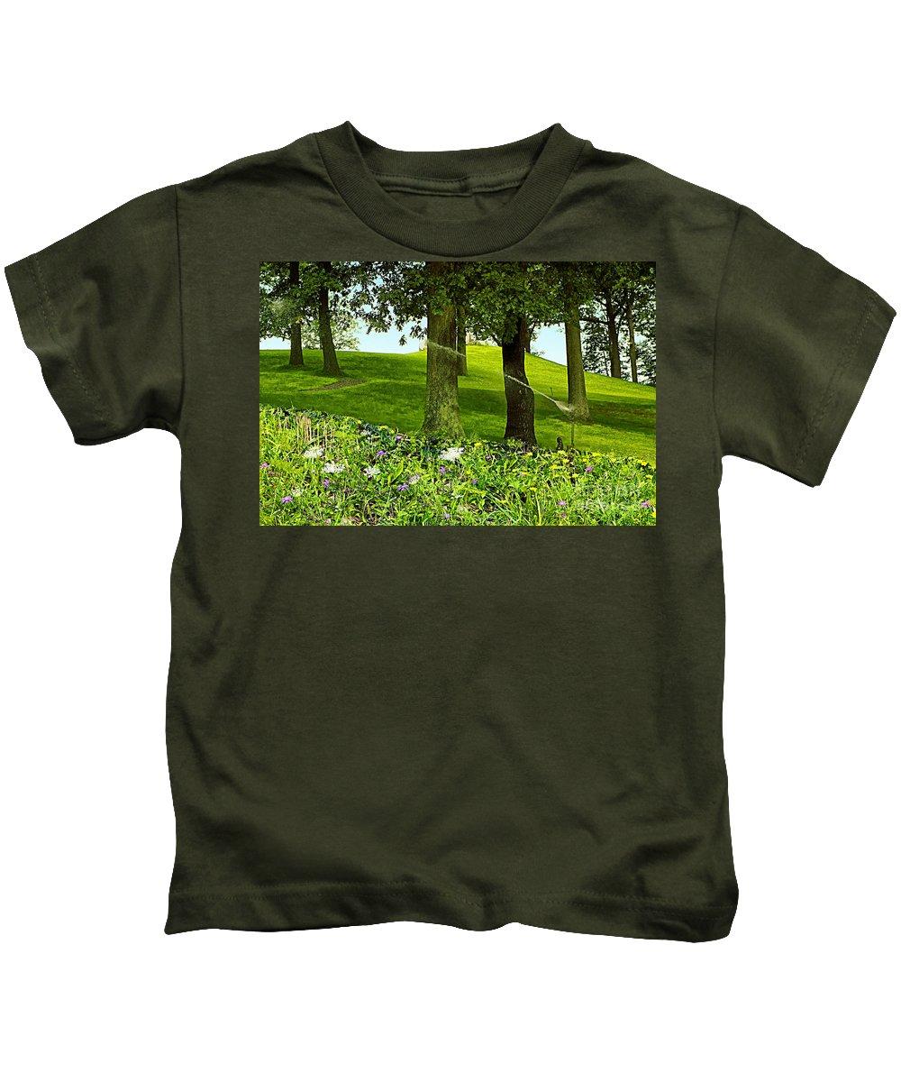 Garden Kids T-Shirt featuring the photograph Garden by Madeline Ellis