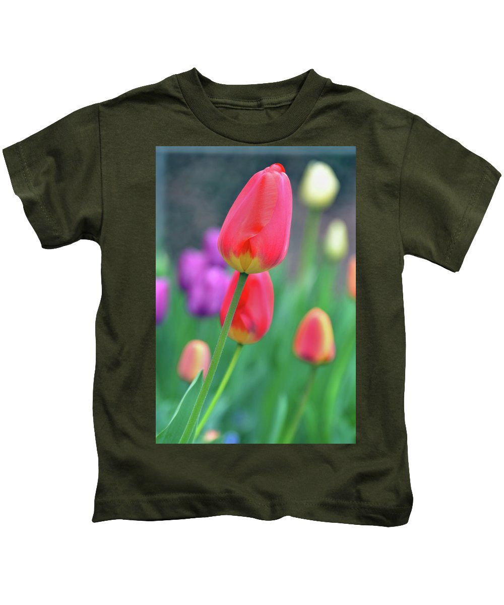 Tulip Kids T-Shirt featuring the photograph Go Your Own Way by Angelina Vick