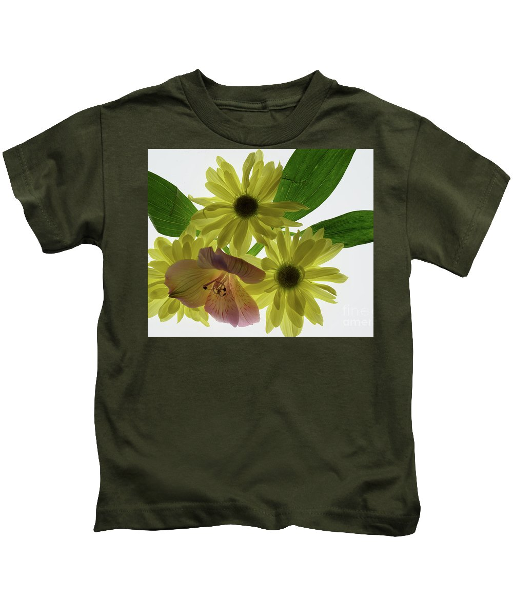 Flowers Kids T-Shirt featuring the photograph God's Grace by Deb Arndt