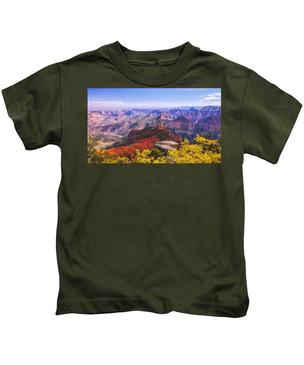 North Rim Photographs Kids T-Shirts