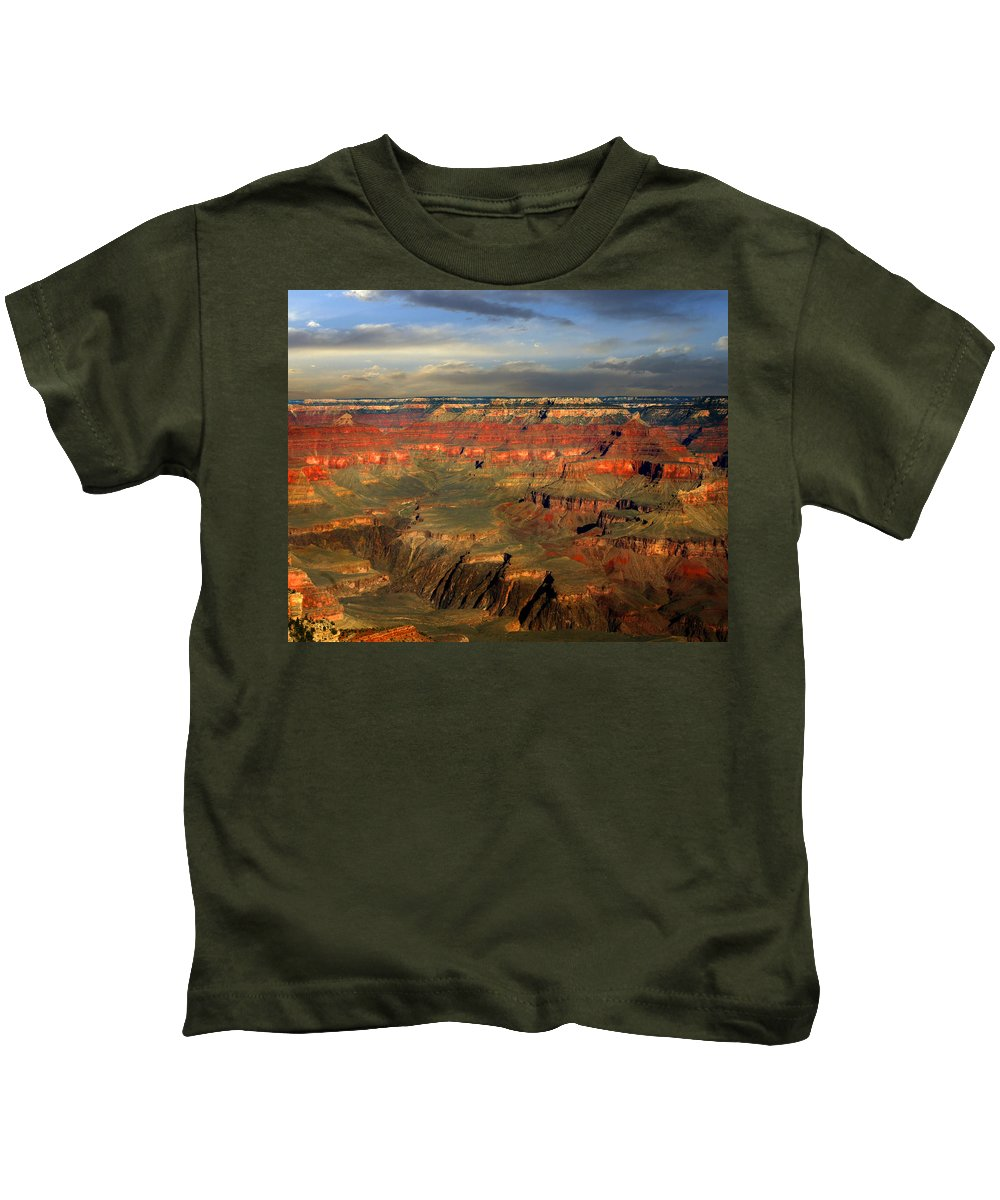 Grand Canyon Kids T-Shirt featuring the photograph Grand Canyon by Anthony Jones
