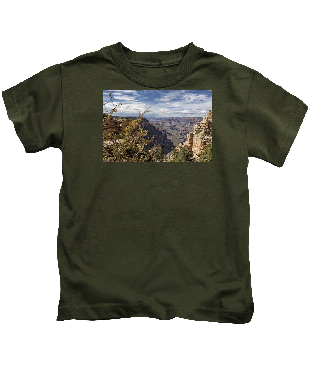 Grand Canyon Kids T-Shirt featuring the photograph Grand Canyon No. 7 by Belinda Greb