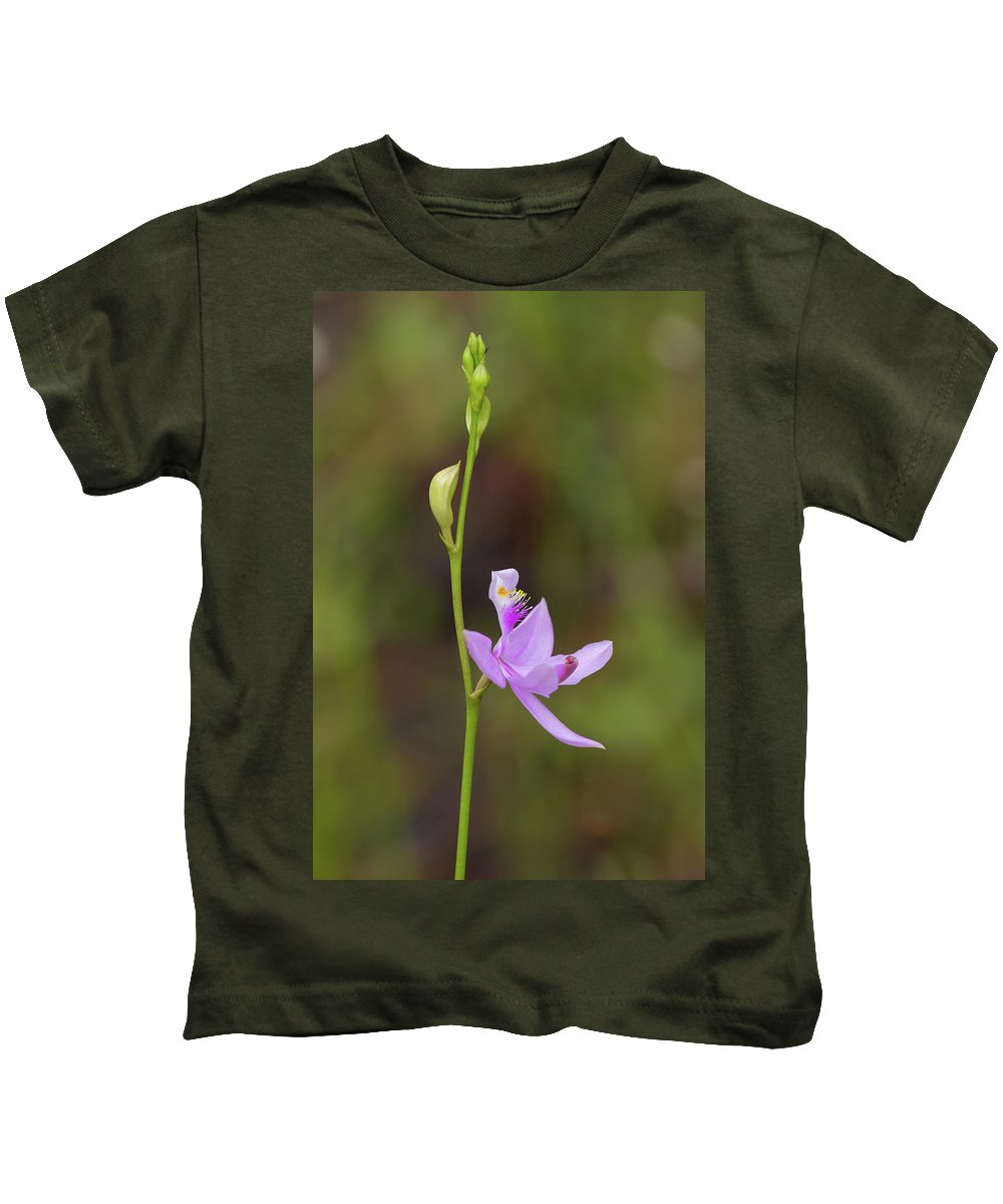 Orchid Kids T-Shirt featuring the photograph Grasspink #2 by Paul Rebmann