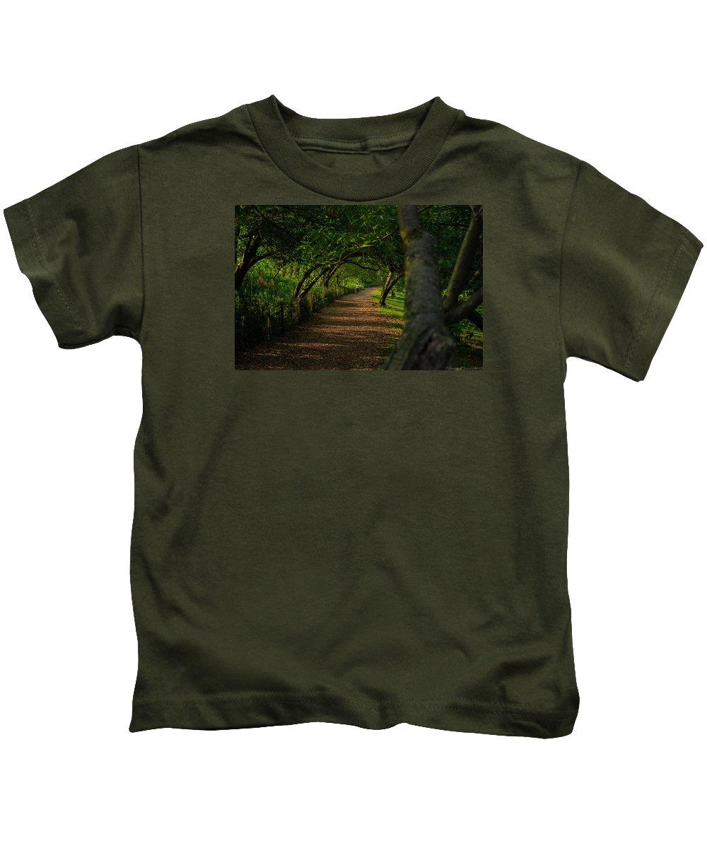 Green Kids T-Shirt featuring the photograph Green Summer by Saul Tavarez