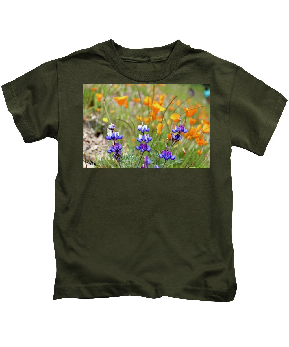 Poppies Kids T-Shirt featuring the photograph Harmony by Erin Finnegan