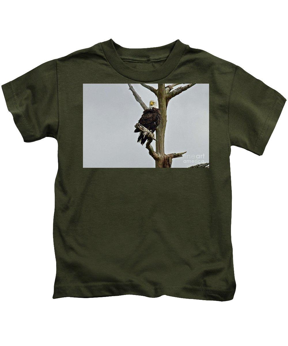 Kids T-Shirt featuring the photograph Harriet Look by Liz Grindstaff