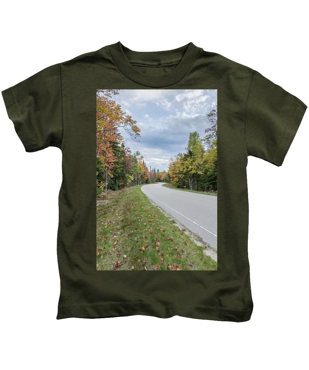 H-58 Kids T-Shirt featuring the photograph Highway 58 by Lee and Michael Beek