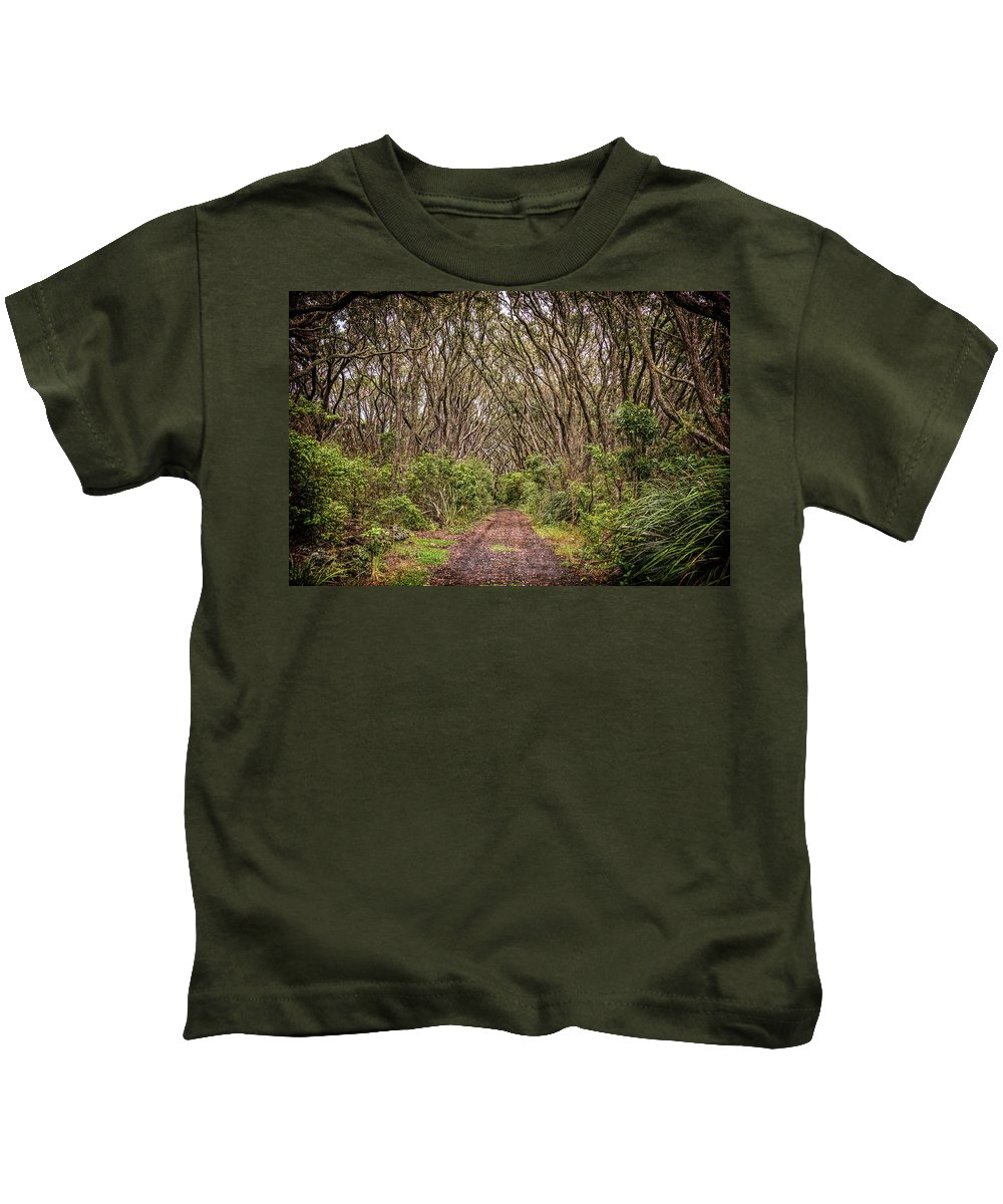 Pohutukawa Photographs Kids T-Shirts