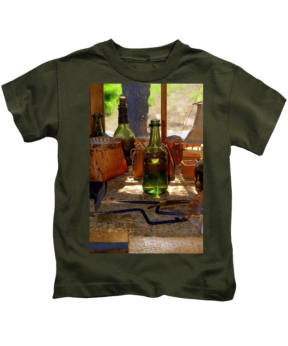 Still Life Kids T-Shirt featuring the photograph Historic Still Llife by Marty Koch
