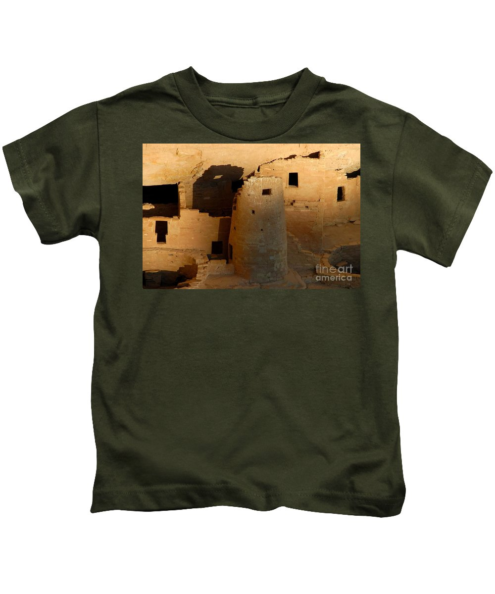Anasazi Kids T-Shirt featuring the photograph Home Of The Anasazi by David Lee Thompson