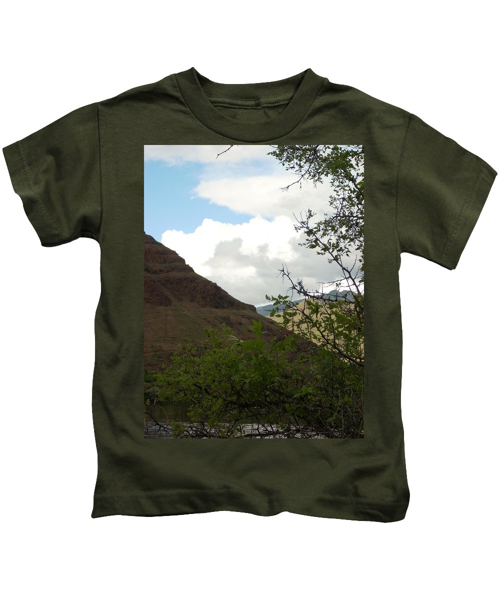 Clouds Kids T-Shirt featuring the photograph Home by Sara Stevenson