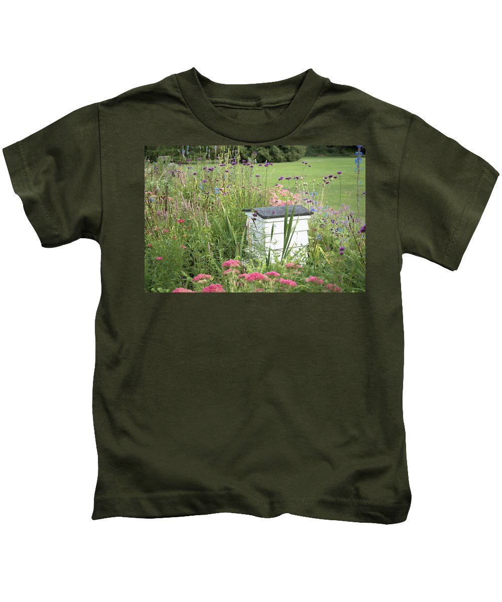 Cambridge Kids T-Shirt featuring the photograph Honey House by Monika Tymanowska