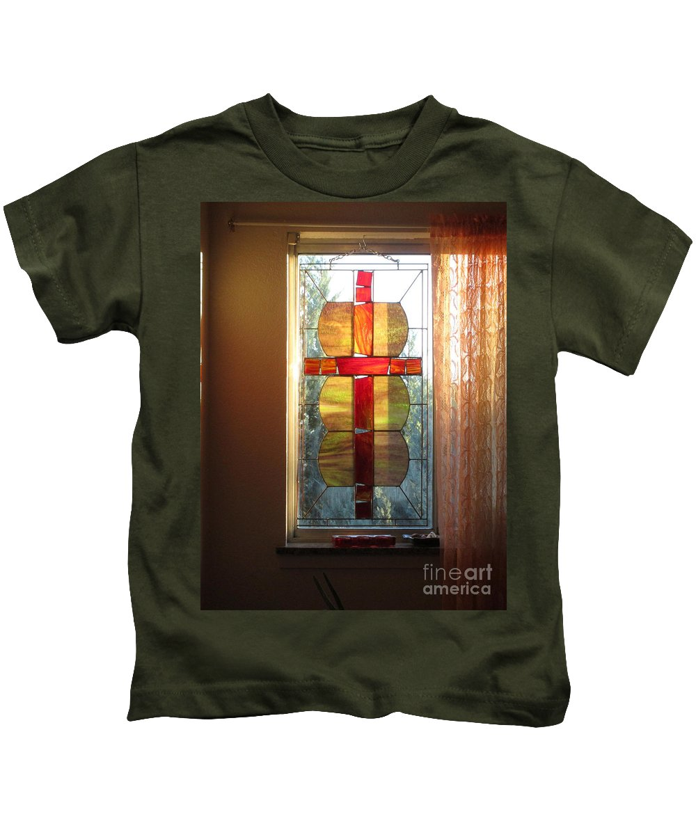 Mother Kids T-Shirt featuring the photograph Honoring Mother Father God by Marie Neder