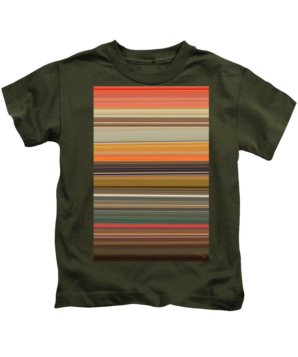 Landscape Kids T-Shirt featuring the digital art Horizont 2 by Rabi Khan