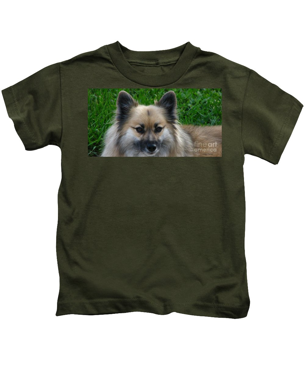 Patzer Kids T-Shirt featuring the photograph Im Swedish by Greg Patzer