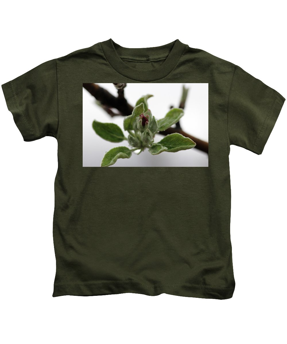 Flowers Kids T-Shirt featuring the photograph In Bloom by Samantha Burrow