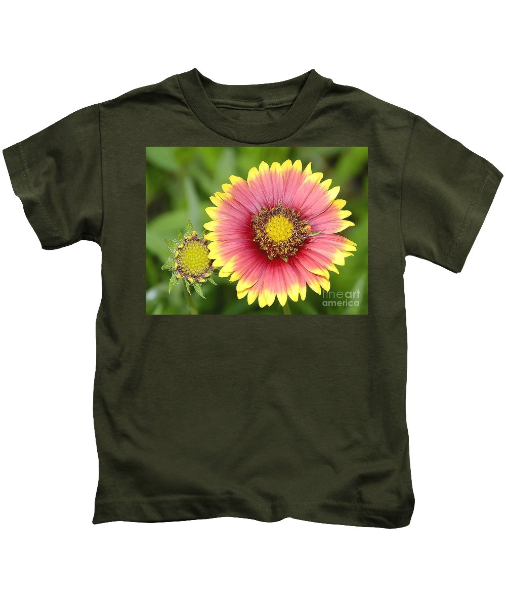 Indian Paintbrush Kids T-Shirt featuring the photograph Indian Paintbrush by David Lee Thompson