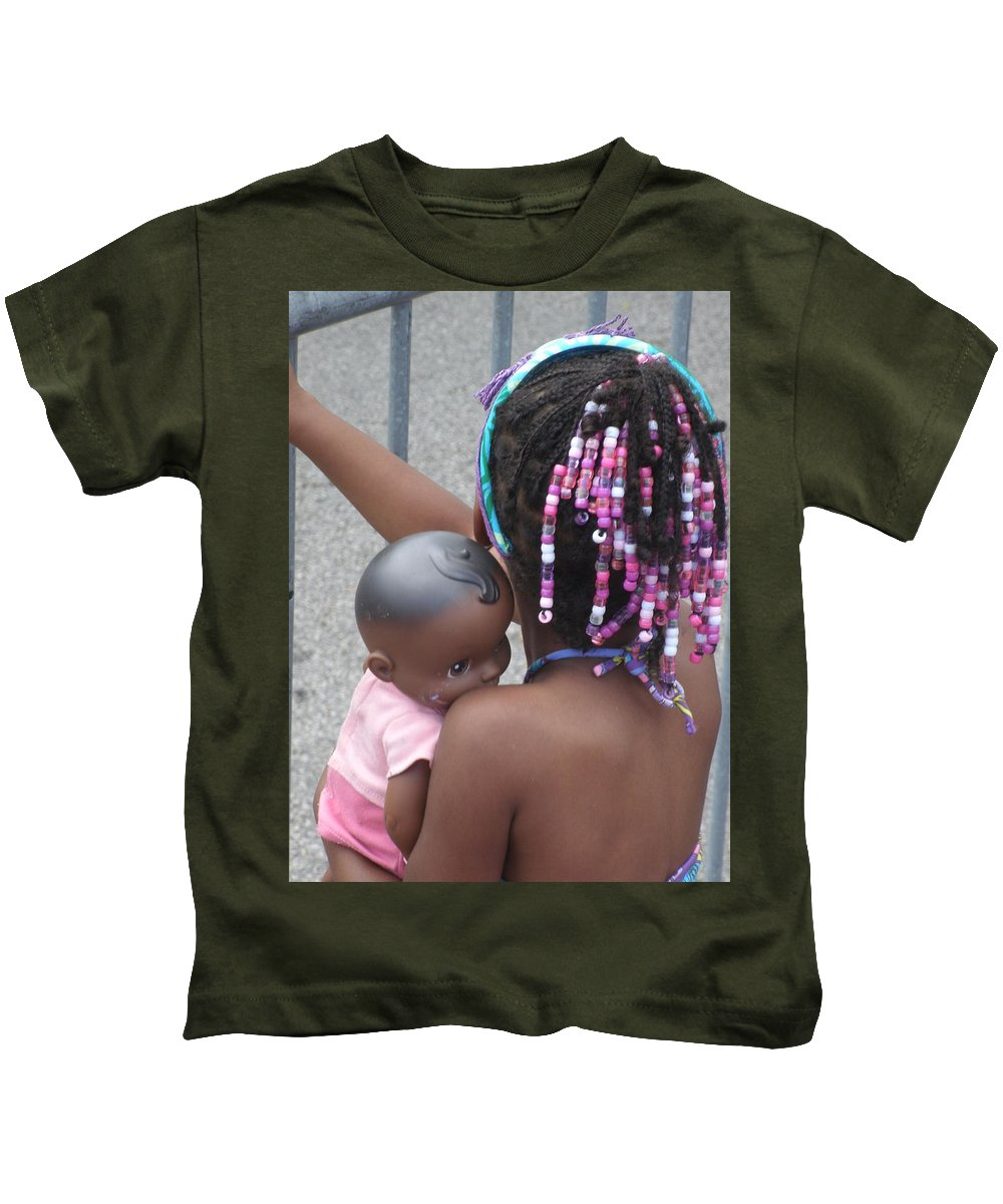 Photography Kids T-Shirt featuring the photograph Innocence II by Jan Gilmore