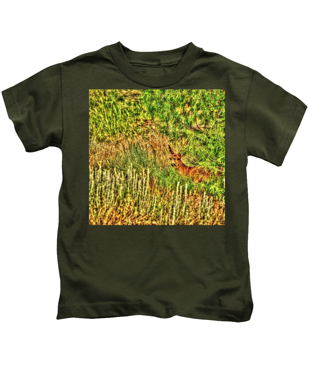 Nature Kids T-Shirt featuring the photograph Invisible Nature One Surreal C by John Burnie