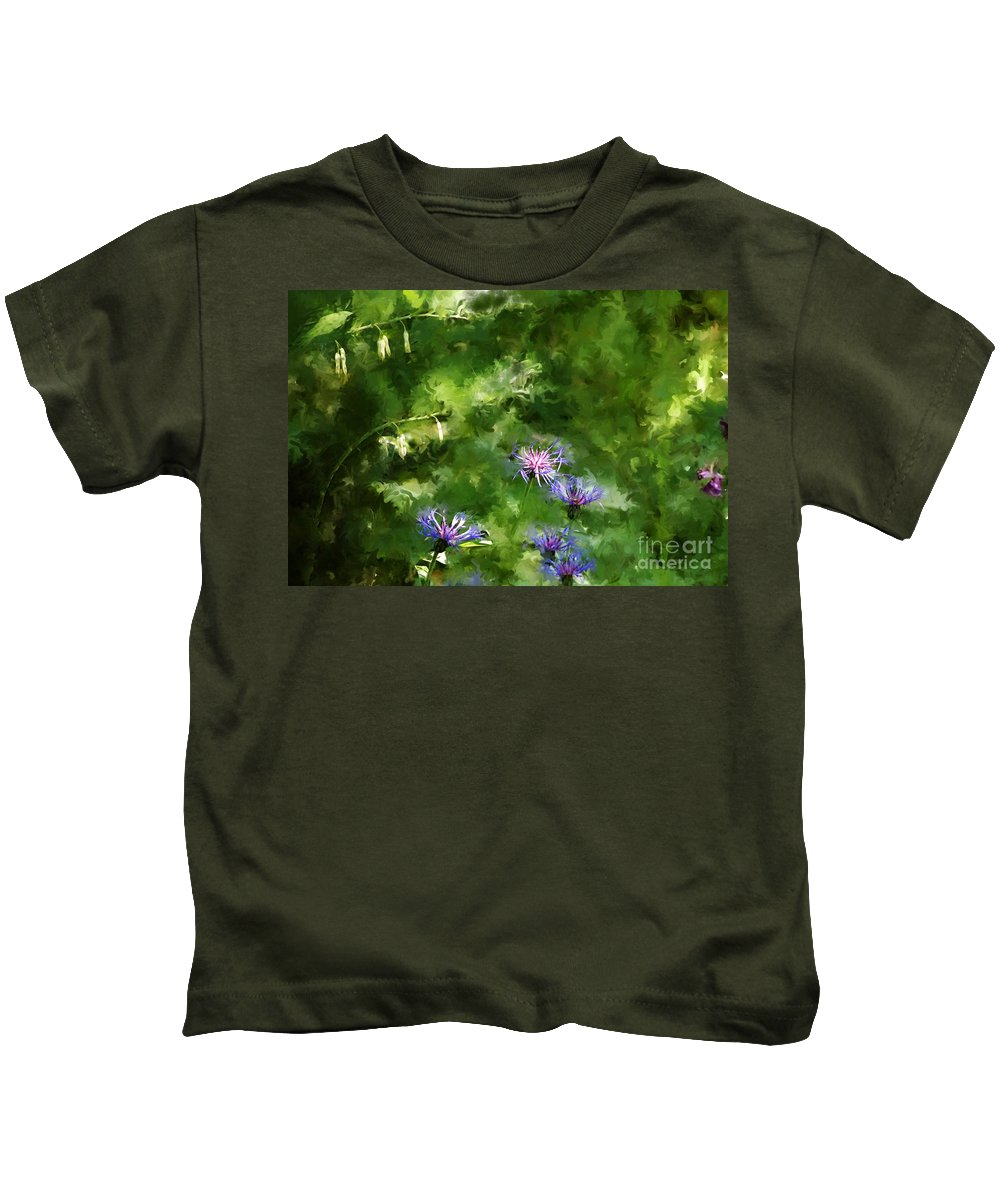 Digital Photo Kids T-Shirt featuring the photograph It's A Still Life I Want To Color by David Lane