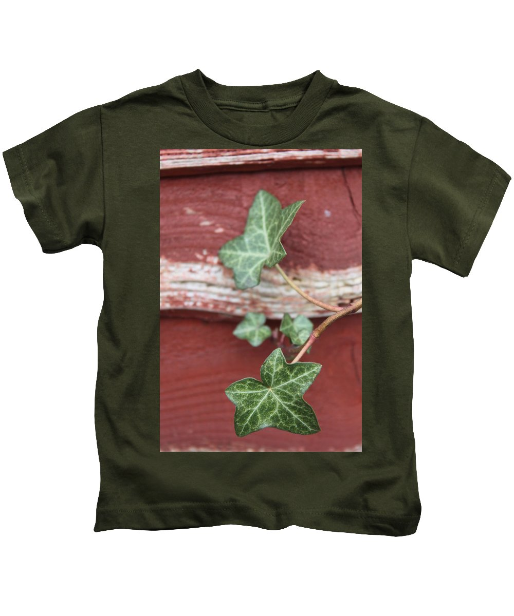Ivy Kids T-Shirt featuring the photograph Ivy by Lauri Novak