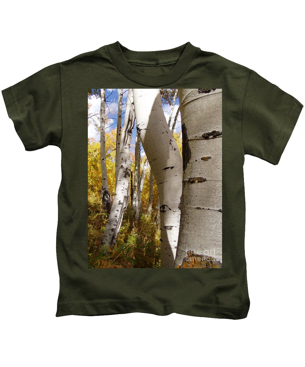 Trees Kids T-Shirt featuring the photograph Jackson Hole Wyoming by Amanda Barcon