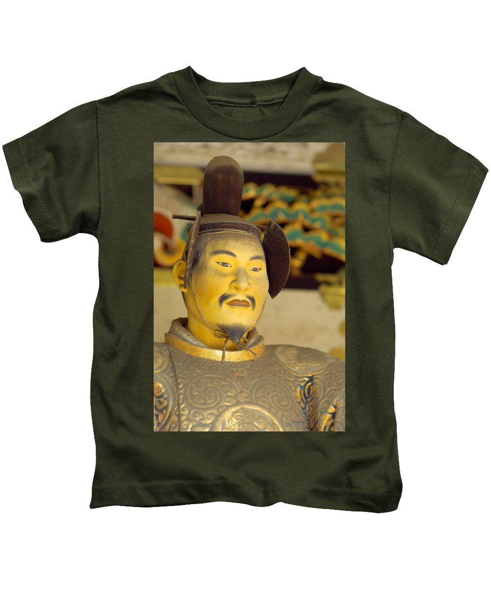Japan Kids T-Shirt featuring the photograph Japanese Warrior by Sebastian Musial