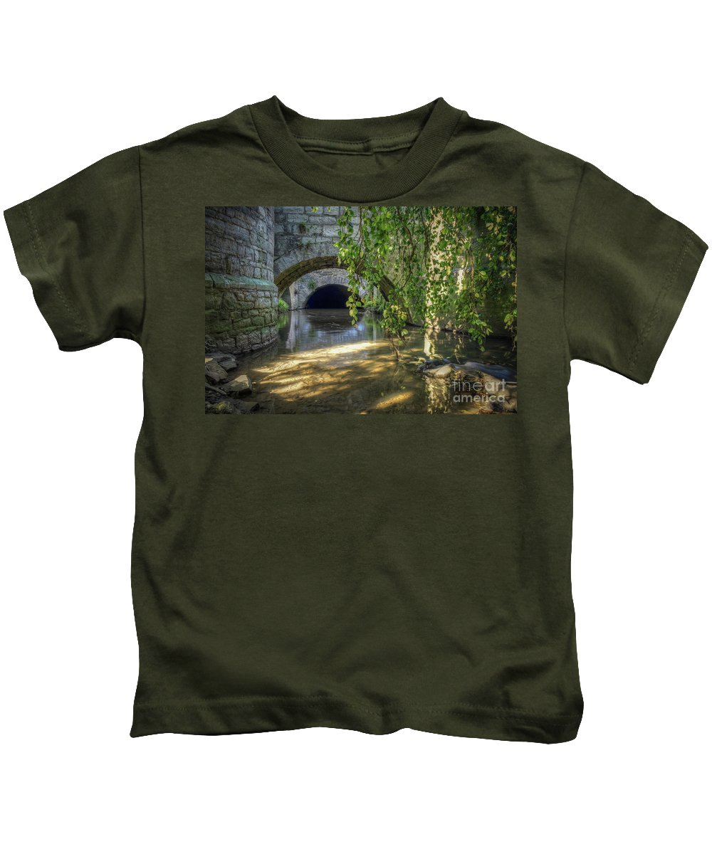 River Kids T-Shirt featuring the photograph Jeker by Brothers Beerens