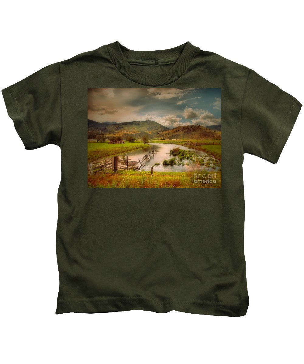 Landscape Kids T-Shirt featuring the photograph June 1 2010 by Tara Turner