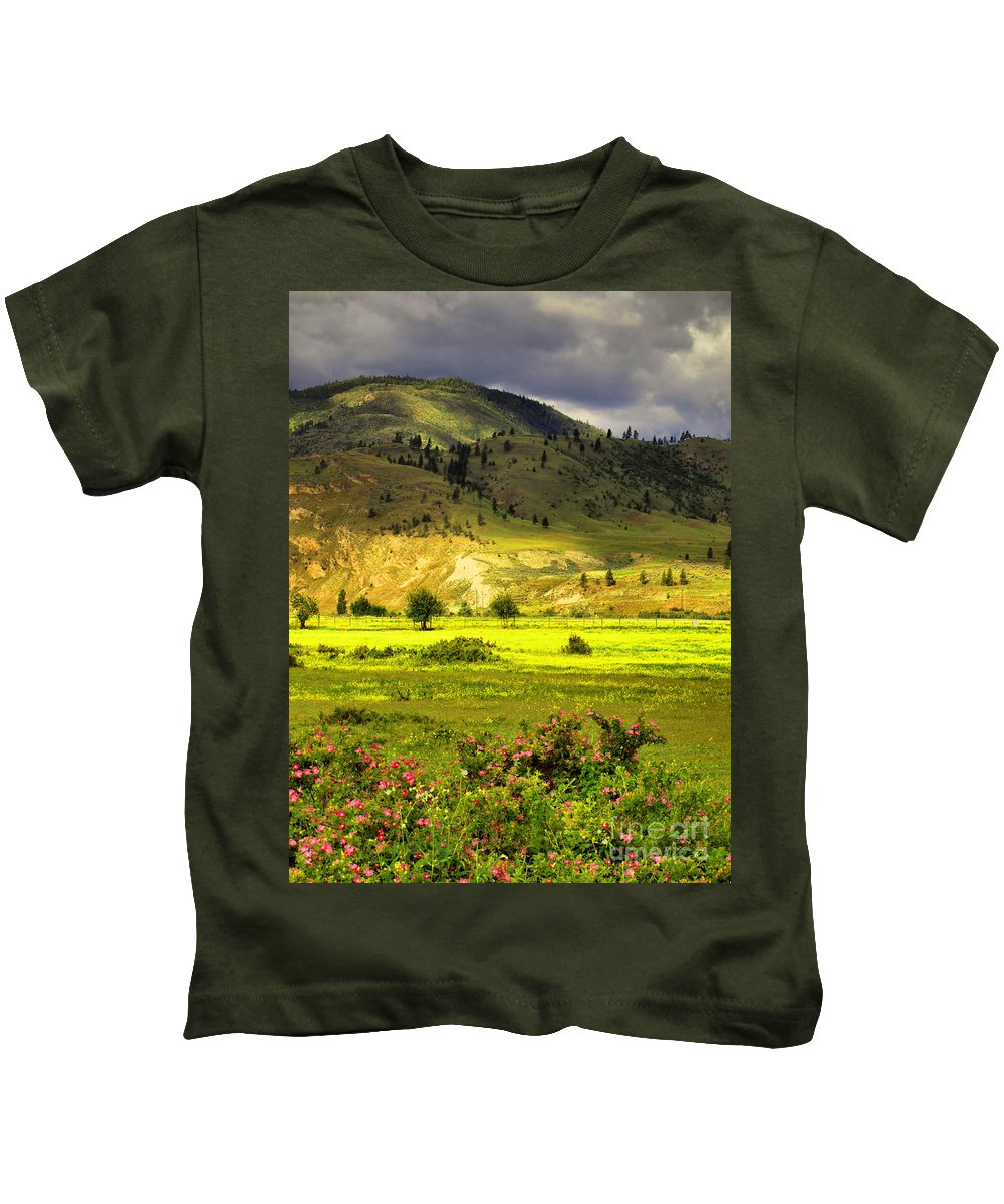 Trees Kids T-Shirt featuring the photograph June 7 2010 by Tara Turner