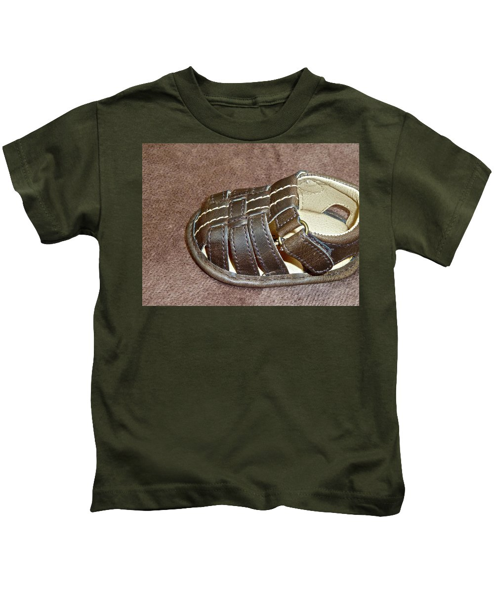 Babies Kids T-Shirt featuring the photograph Just Add Toes by Diana Hatcher