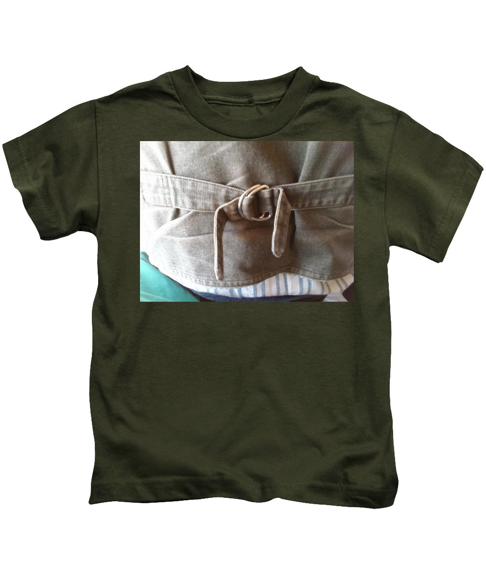 Keeper Sinch Vest Cowboy Kids T-Shirt featuring the photograph Keeper by Cindy New