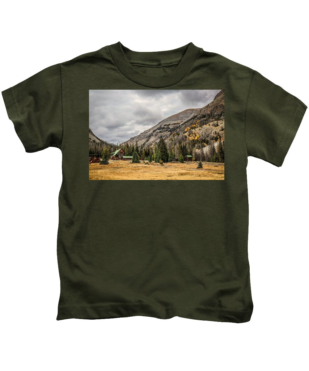 Kids T-Shirt featuring the photograph Kirwin 1 by Gemdelin Jackson