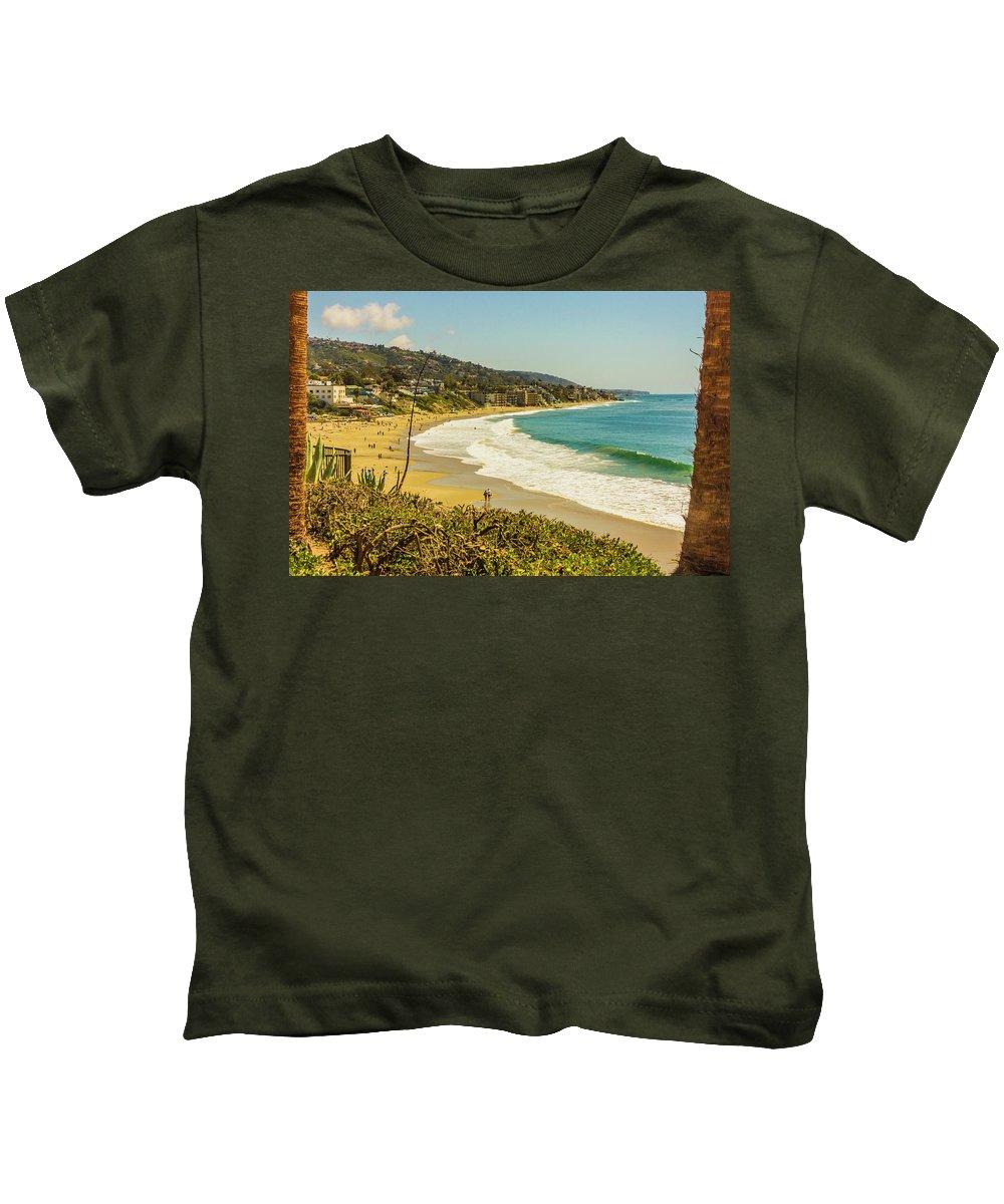 2011 Kids T-Shirt featuring the digital art Laguna View by Amer Khwaja