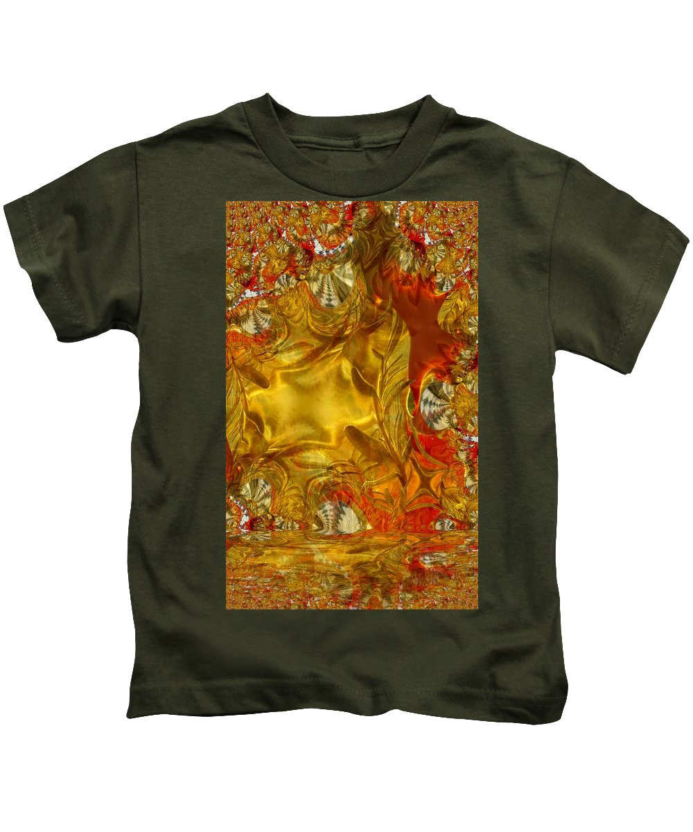 Olive Kids T-Shirt featuring the photograph Land Of Oil And Honey by Ron Bissett