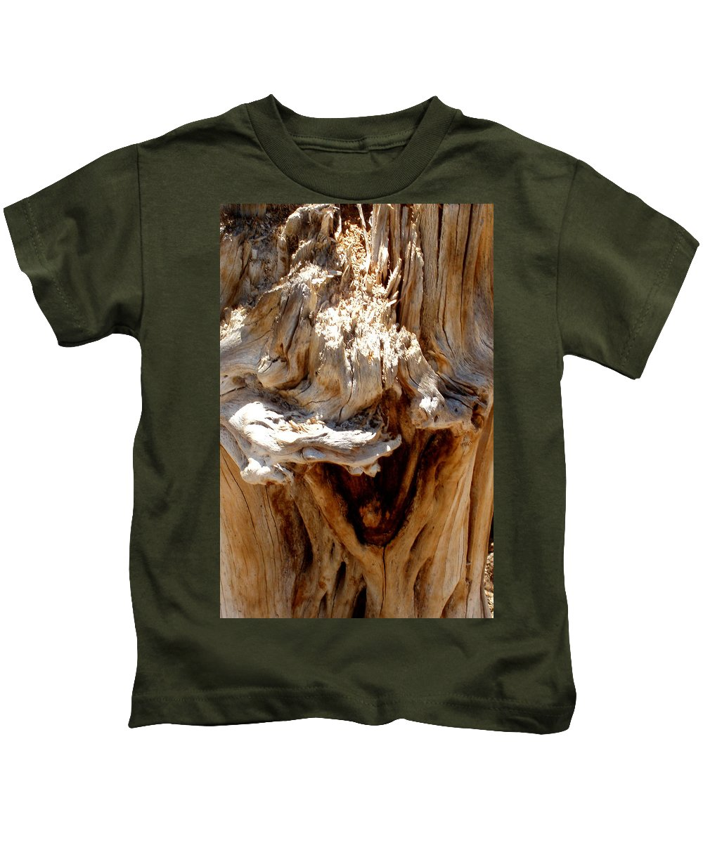 Tree Kids T-Shirt featuring the photograph Laughing Tree by Wayne Potrafka