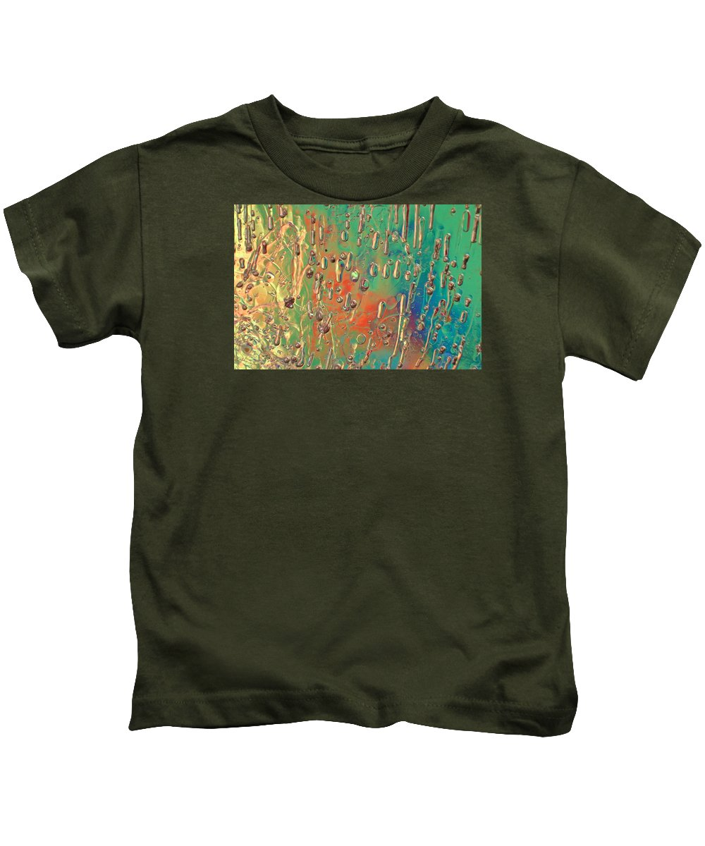 Ice Kids T-Shirt featuring the photograph Lighthearted by Alan Buck