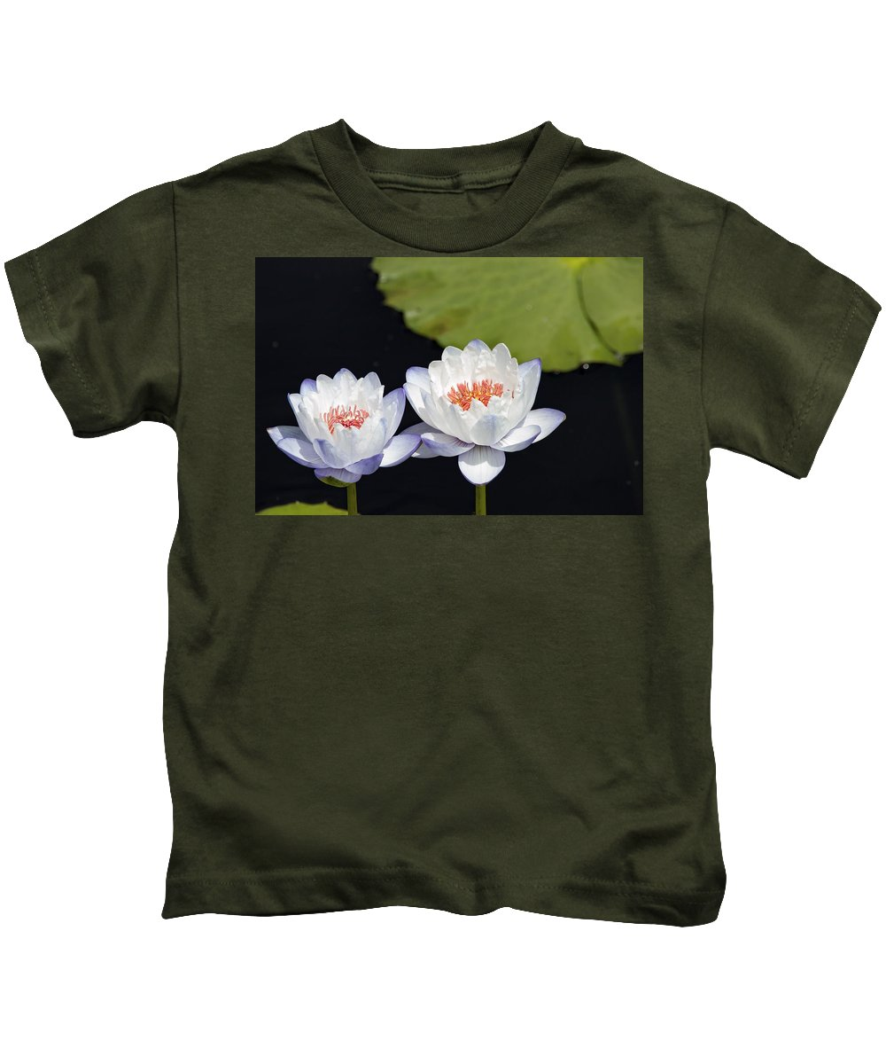 Kids T-Shirt featuring the photograph Lilly Flowers by Sean Kelley