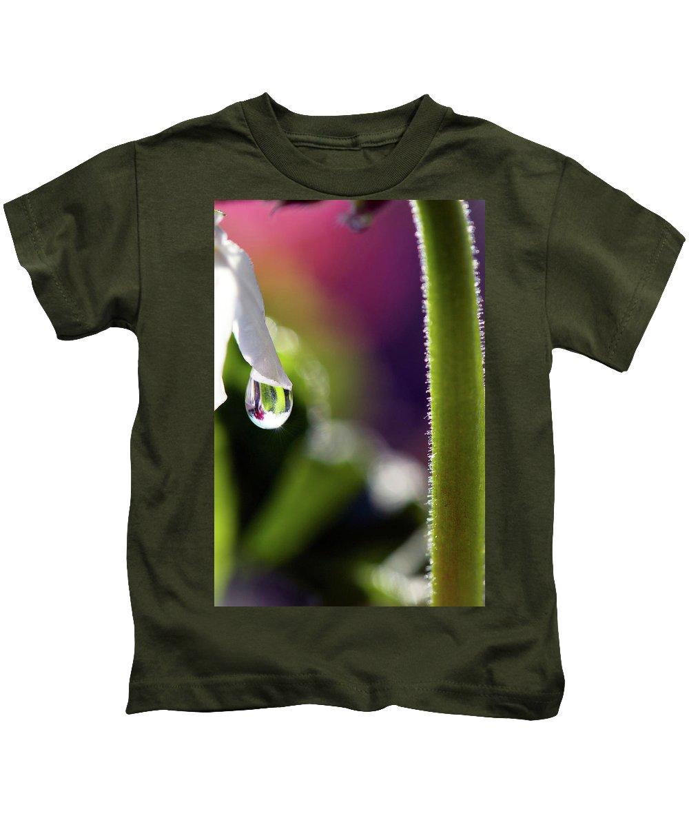 Lisa Knechtel Kids T-Shirt featuring the photograph Living Water by Lisa Knechtel