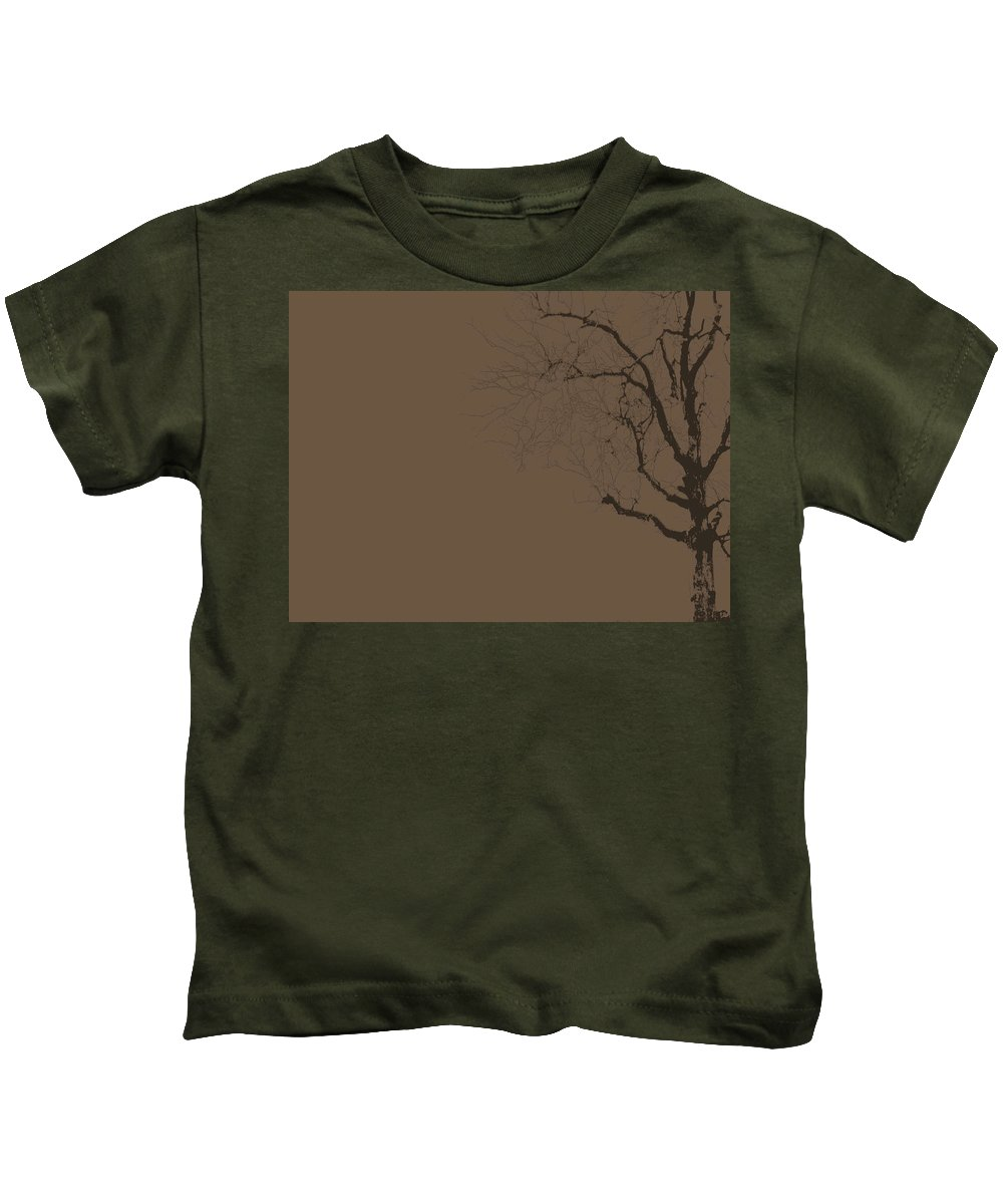 Tree Kids T-Shirt featuring the photograph Loneliness by Ed Smith