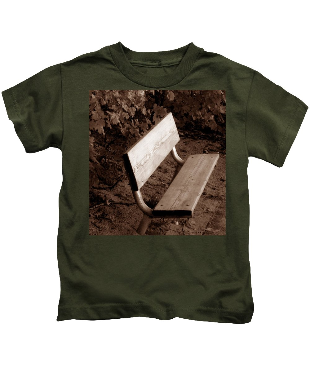 Lonliness Kids T-Shirt featuring the photograph Lonely by Wayne Potrafka