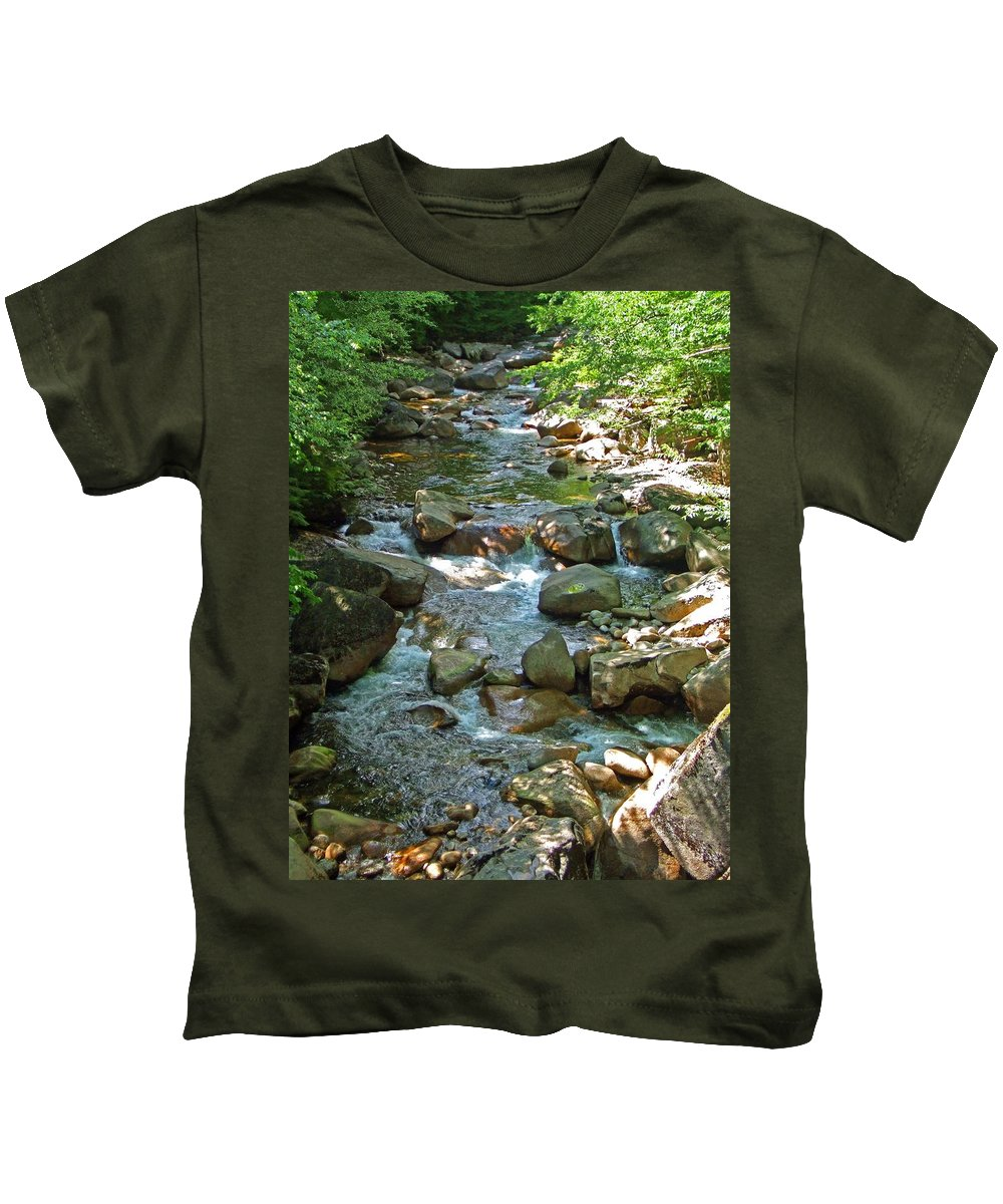 Forest Kids T-Shirt featuring the photograph Lost River 1 by Mark Sellers