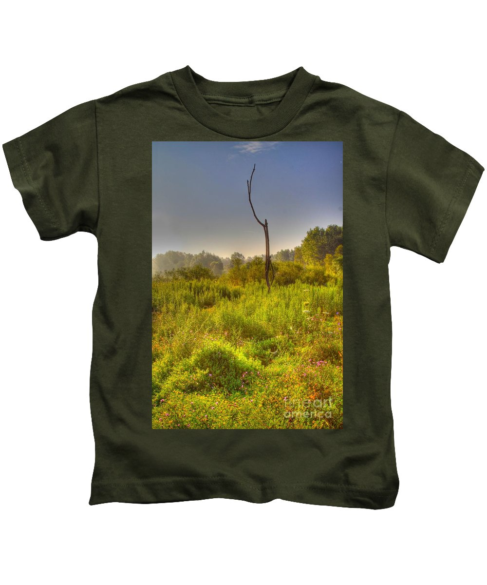Landscape Kids T-Shirt featuring the photograph Lost by Robert Pearson