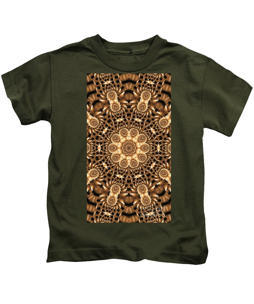 Kaleidoscope Kids T-Shirt featuring the photograph Kaleidoscope 86 by Ron Bissett