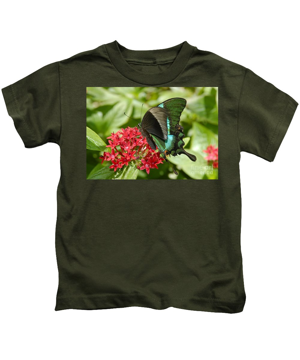 Luminescence Kids T-Shirt featuring the photograph Luminescence by David Lee Thompson