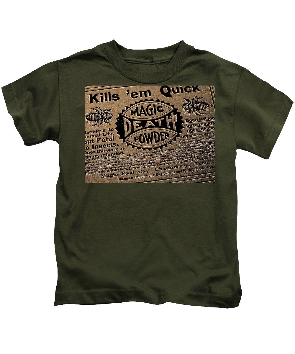 Magic Kids T-Shirt featuring the photograph Magic Death Powder by Ed Smith