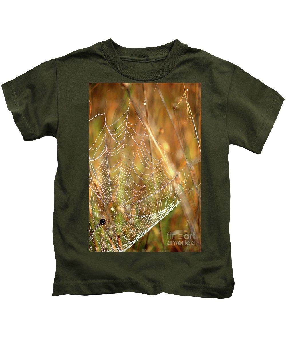 Marsh Kids T-Shirt featuring the photograph Magic In The Marsh by Carol Groenen