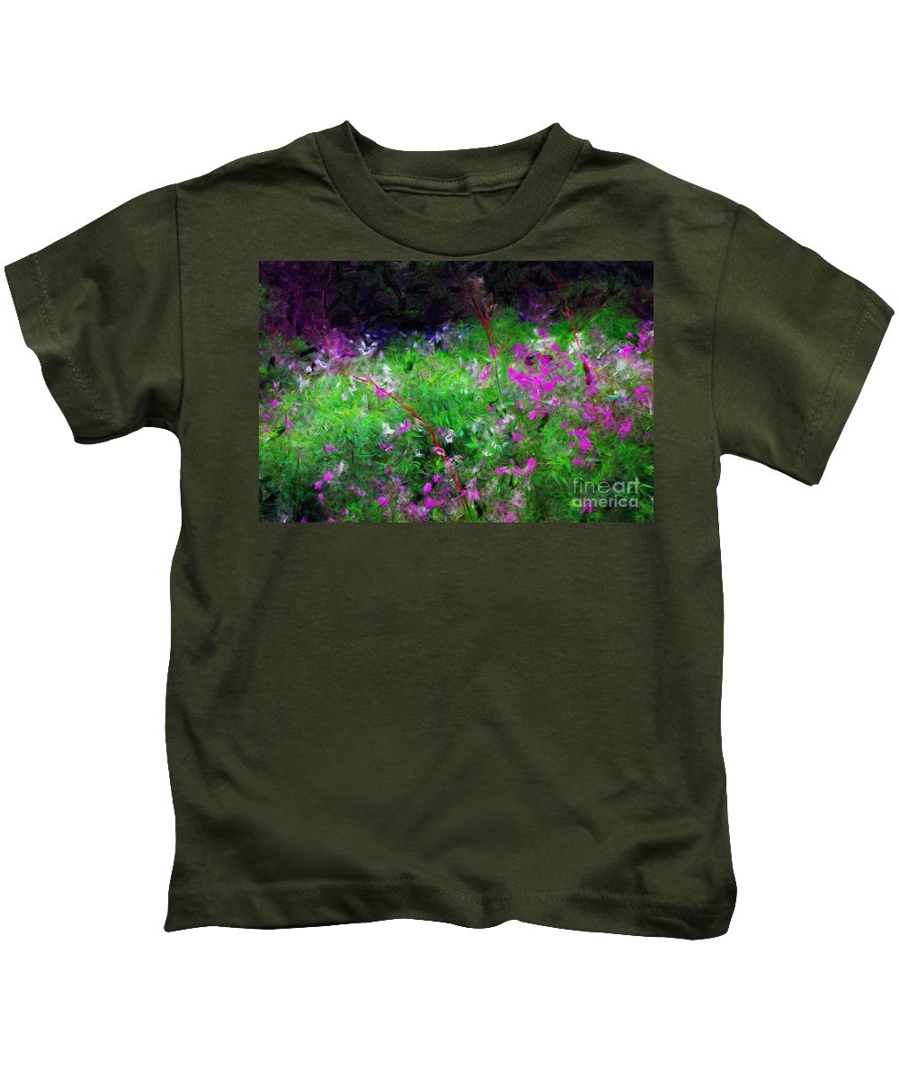 Digital Photograph Kids T-Shirt featuring the photograph Mixed Up by David Lane