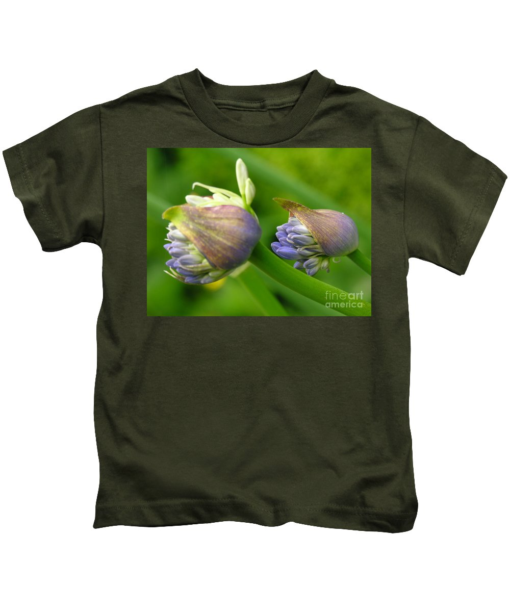 Blue Kids T-Shirt featuring the photograph Montana Blue by Diane Greco-Lesser